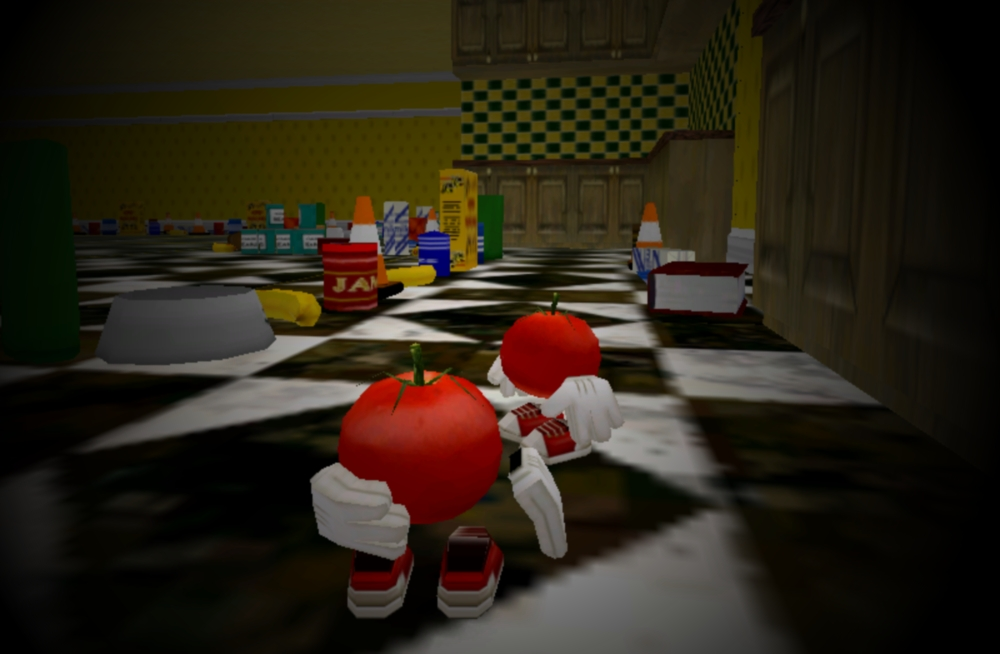 the tomato game Brave tomato 2, oh no another army of genetically-modified veggies has escaped from the lab now it's up to this tomato to smoosh them in this action-packed puzzle game.