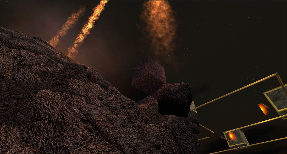 Otherside - In-game screenshot from the first level