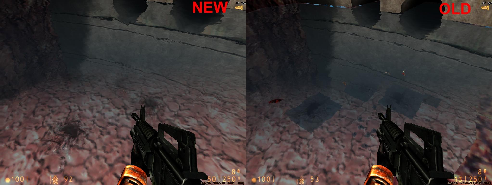 Decals bug fixed  image - Xash3D : Half-Life : Enhanced