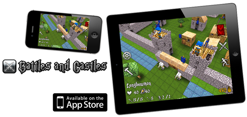 Battles and Castles now on the Appstore!
