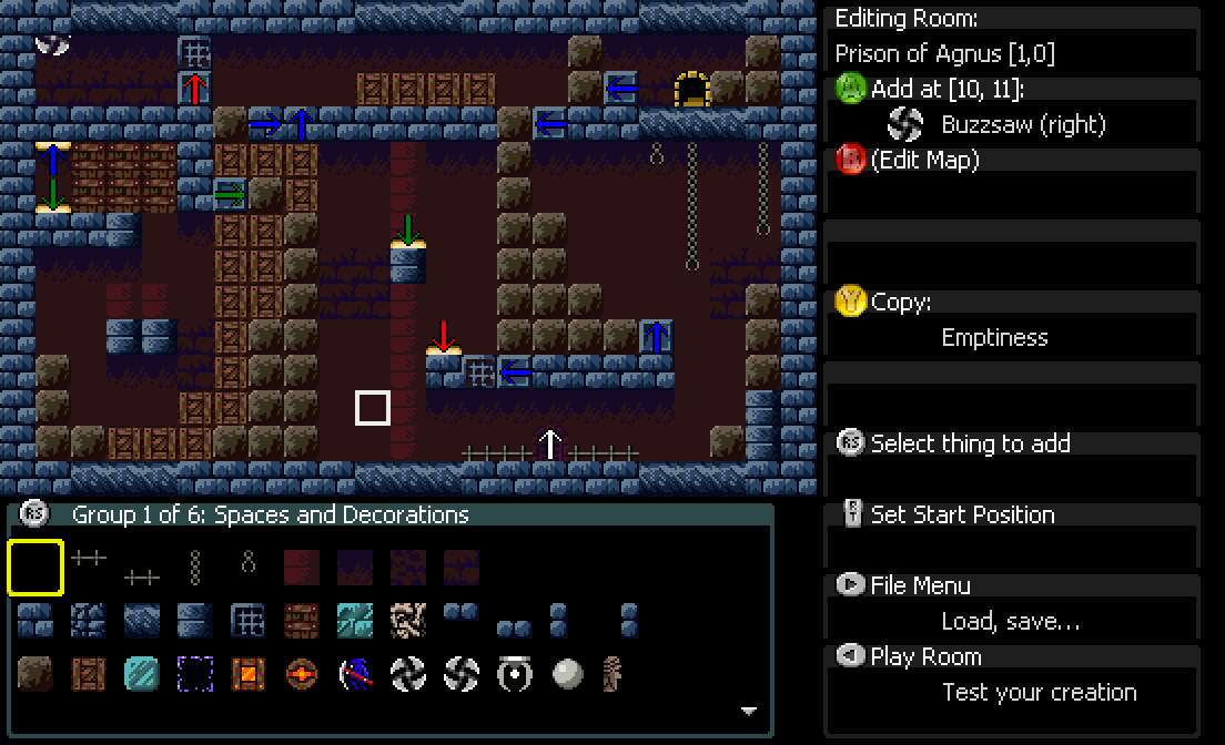 The Level Editor (Xbox version, PC version TBD) image