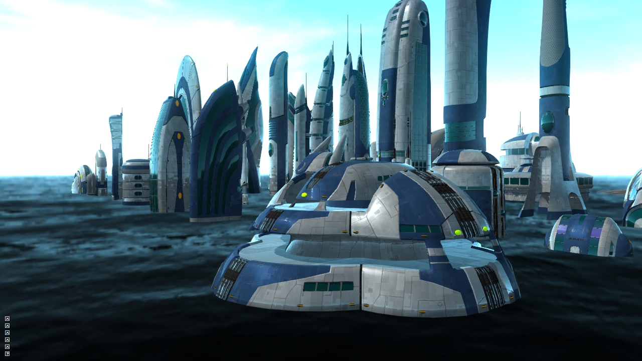 Space Science Fiction Building - Pics about space