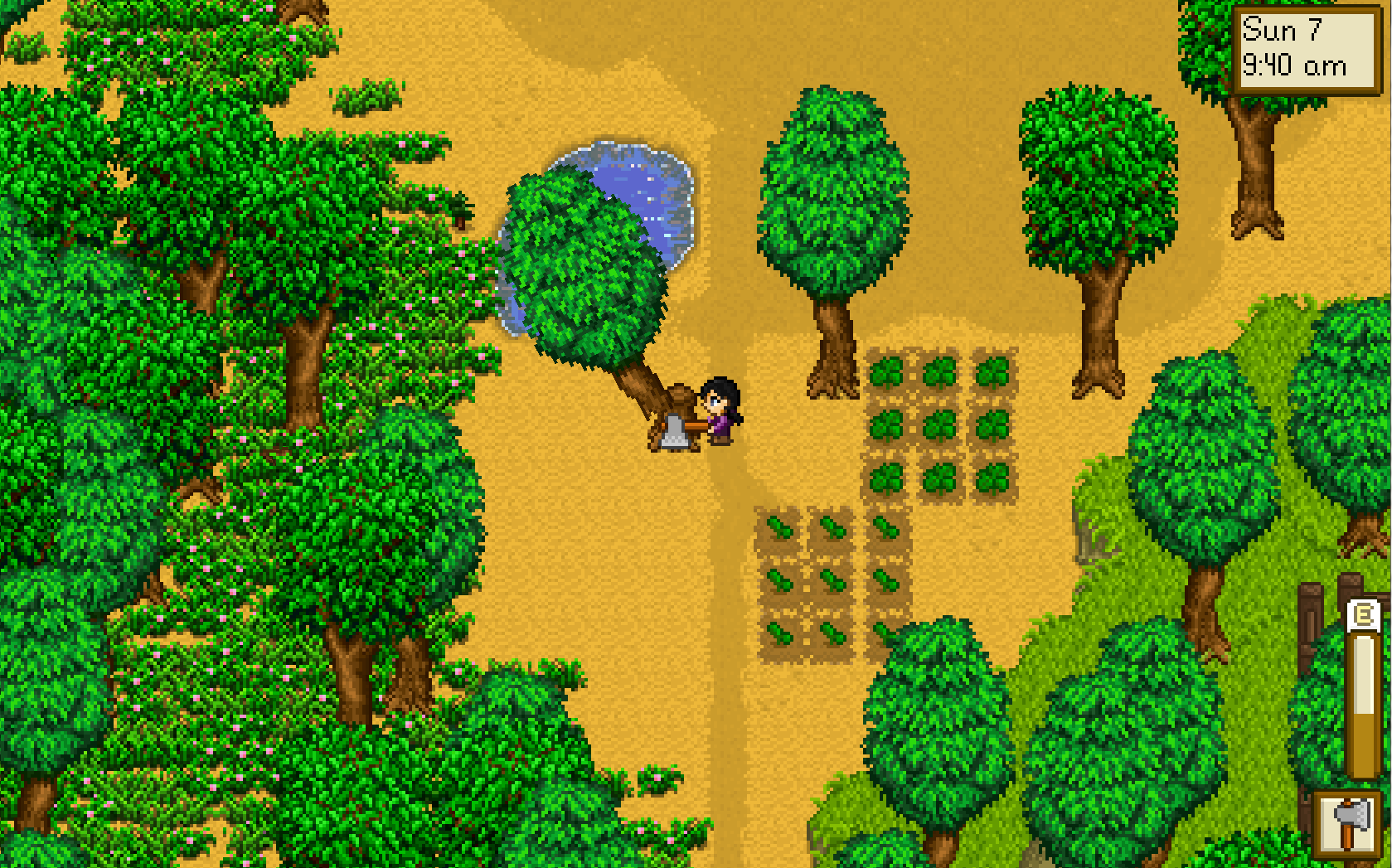 stardew valley how to take out hay