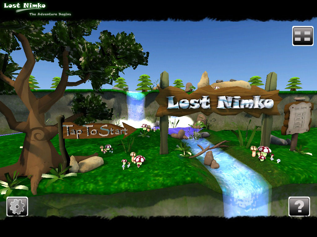 Main Menu Design Image Lost Nimko Indie DB - Game menu design