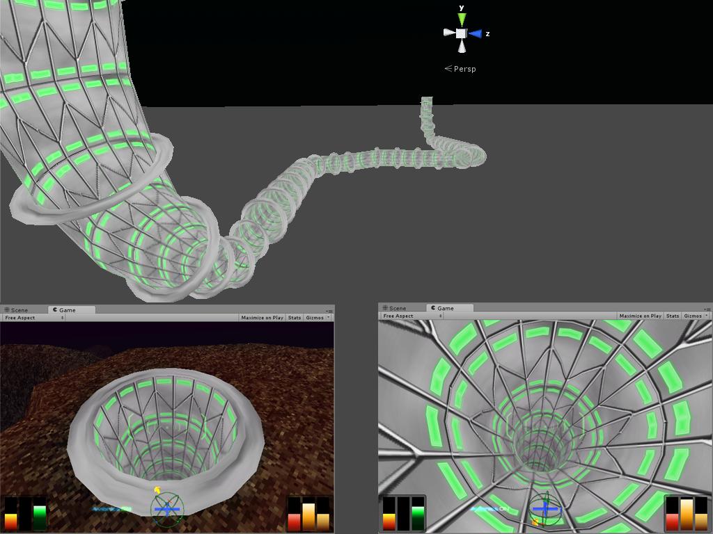 Terminal velocity/Fury3-like tunnels  image - Hellbender: Ravaging