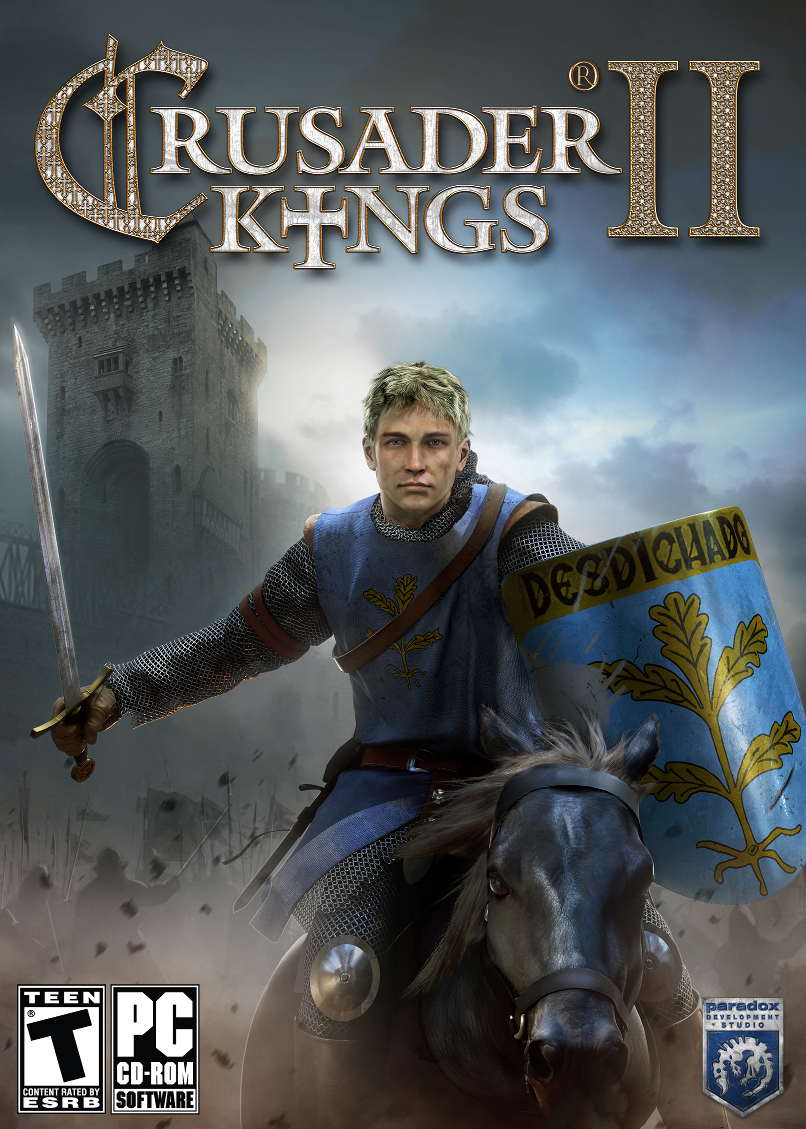 Two Kings Brings The Action In The Spongebob Wars And: Crusader Kings II Windows, Mac Game