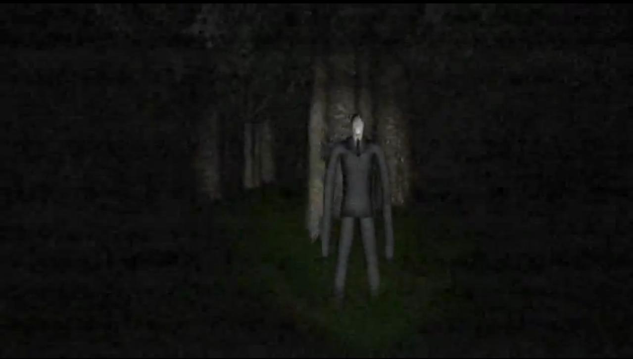 Slender man games online for school