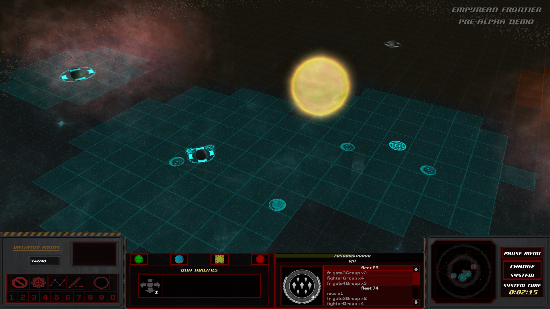 Solar System image - Empyrean Frontier - Indie DB