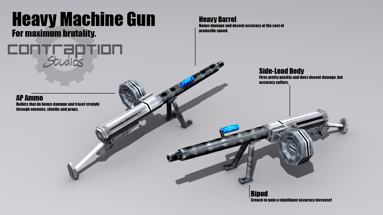 new machine gun