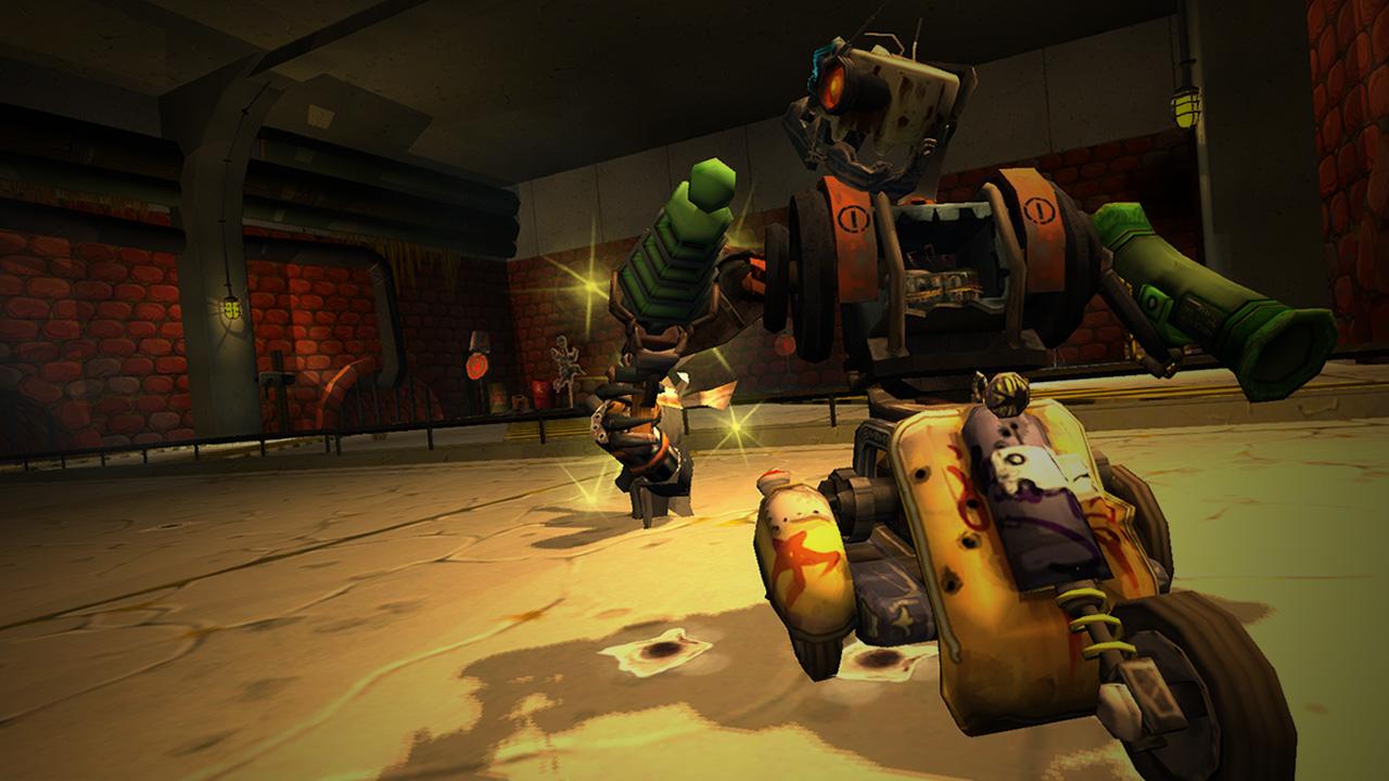 Скриншот для игры Guns and Robots.