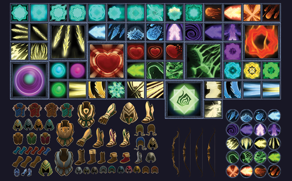 armour and items icons image the legacy of barubash