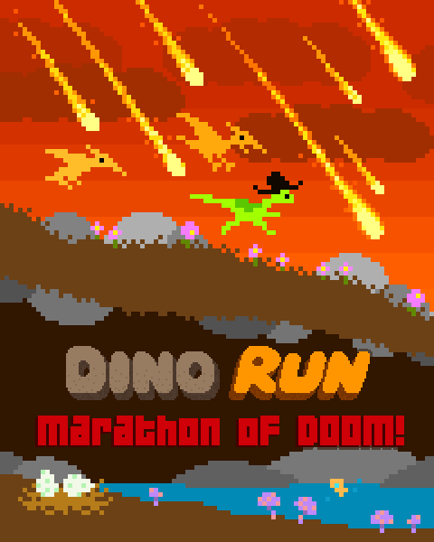 play Dino run marathon of doom.