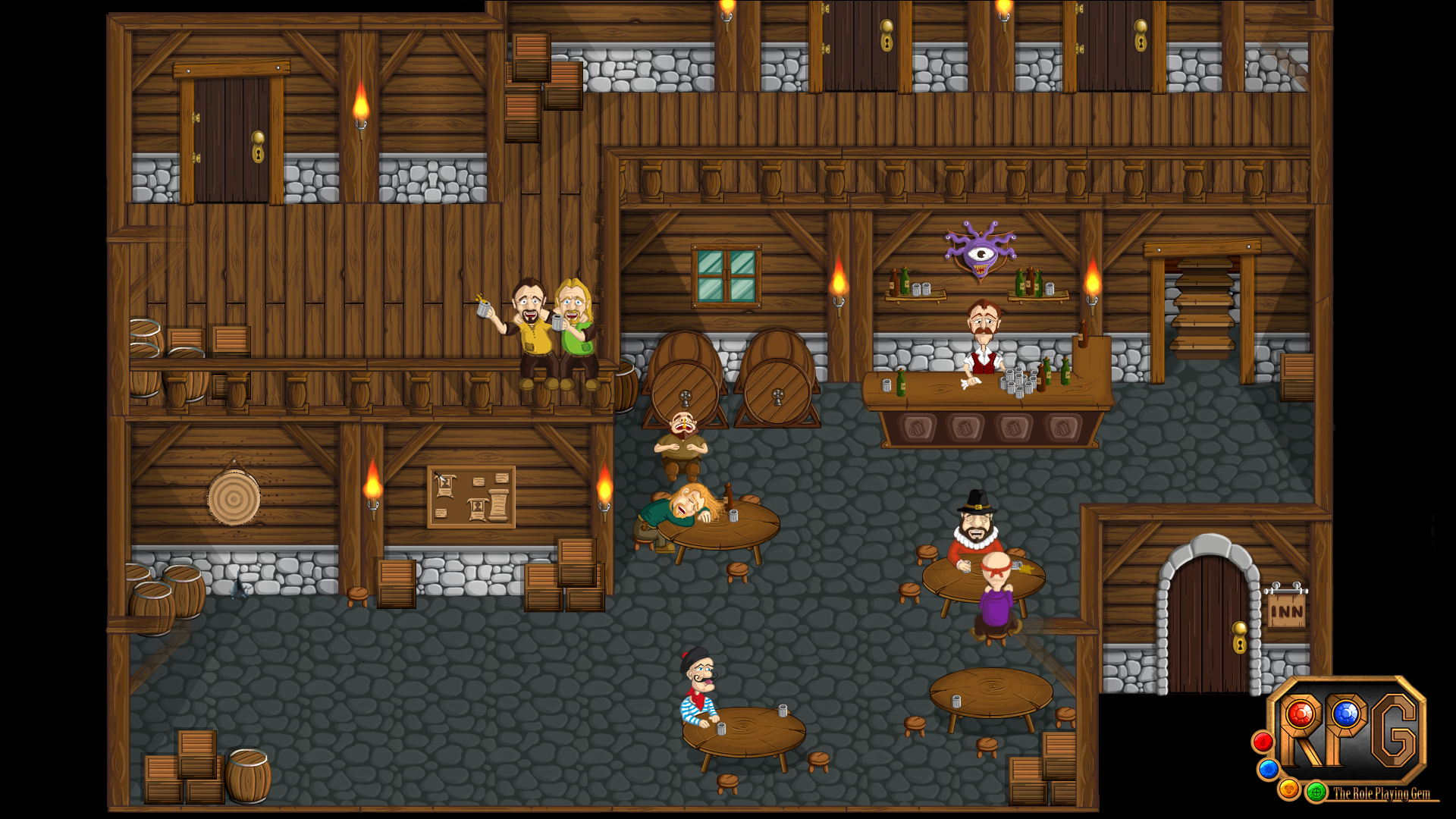 Tavern Image Rpg The Role Playing Gem Indie Db