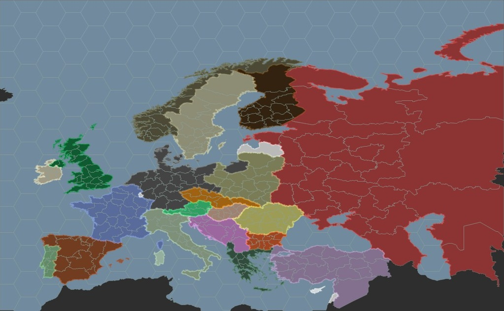 Europe Map image World War II Nations Indie DB