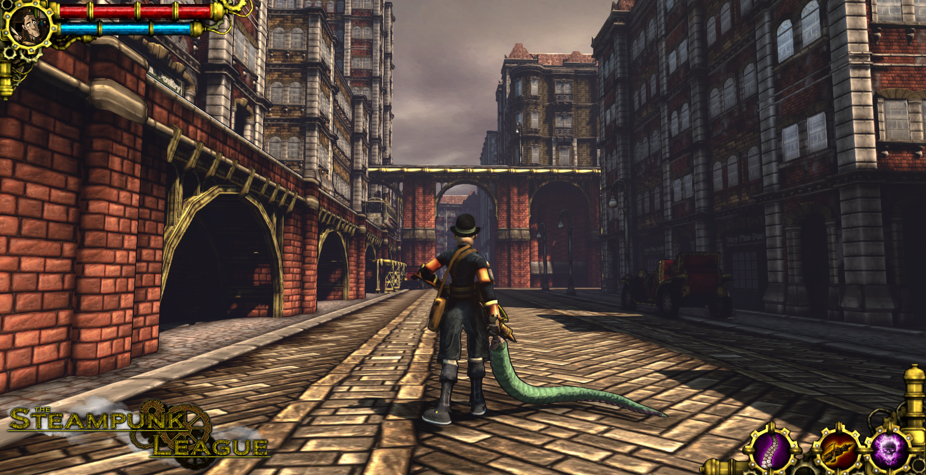 Get Me A Job >> Lovecraft, occult detective image - The Steampunk League - Indie DB