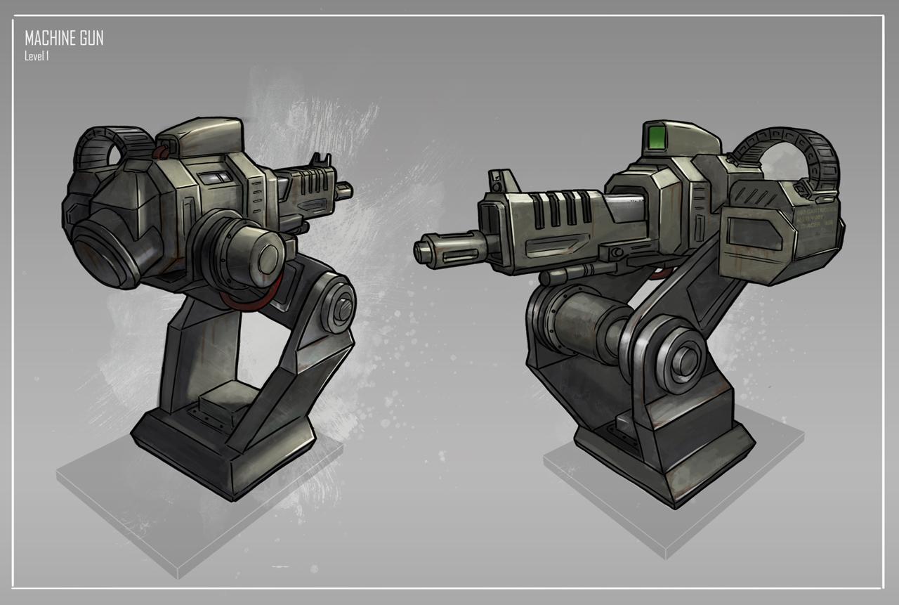 Gun Designing Games