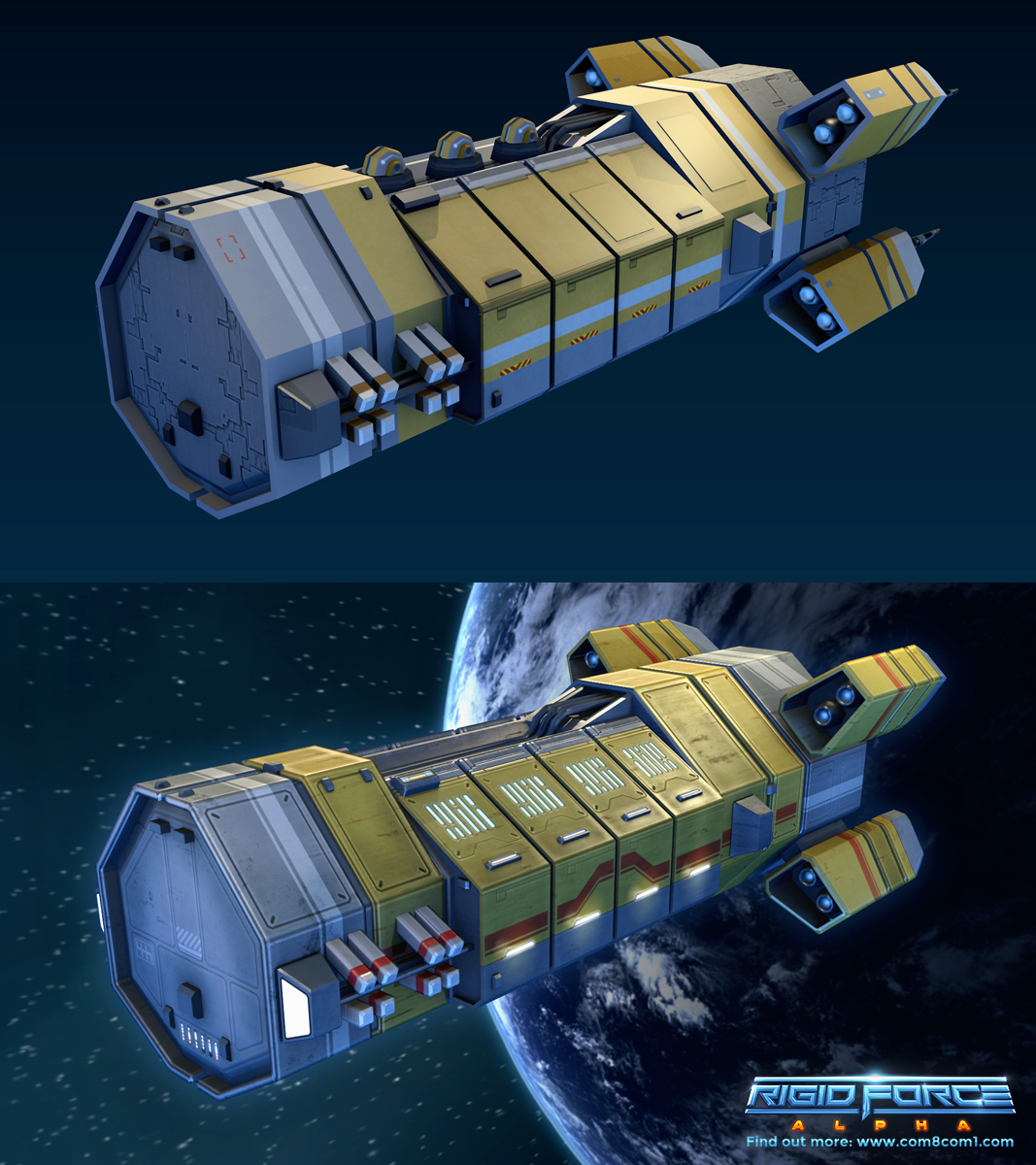 ATV6 - Armed Work in Progress: ATV6Ship