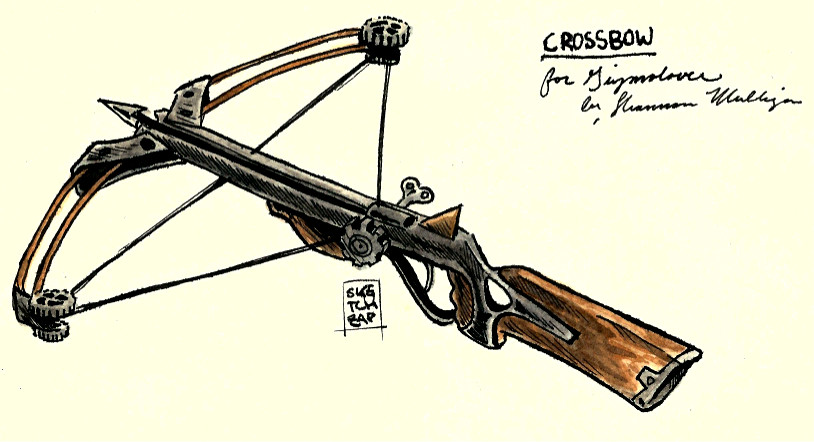 Clockwork Crossbow Concept Art Image Beyond The Linesrr Indie Db