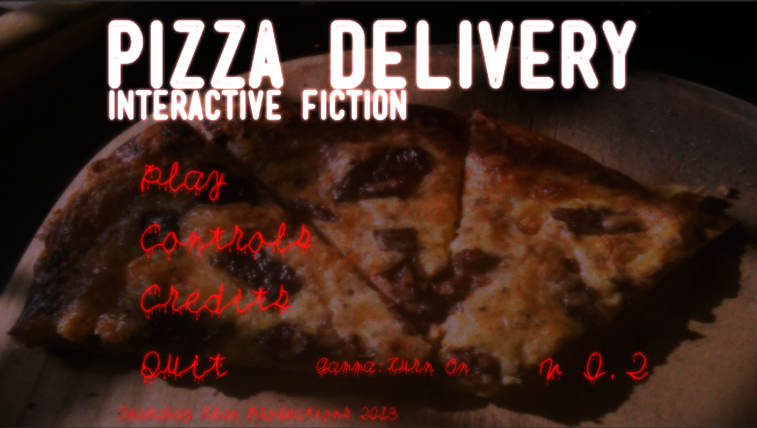 Pizza Delivery - Interactive Fiction Windows, Mac game - Indie DB