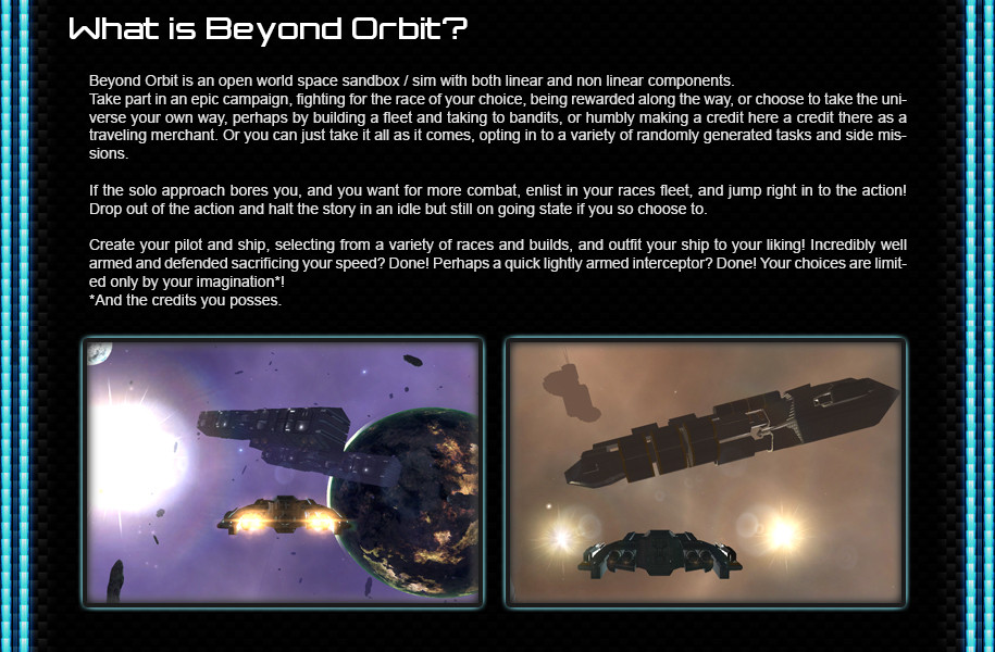 What is Beyond Orbit