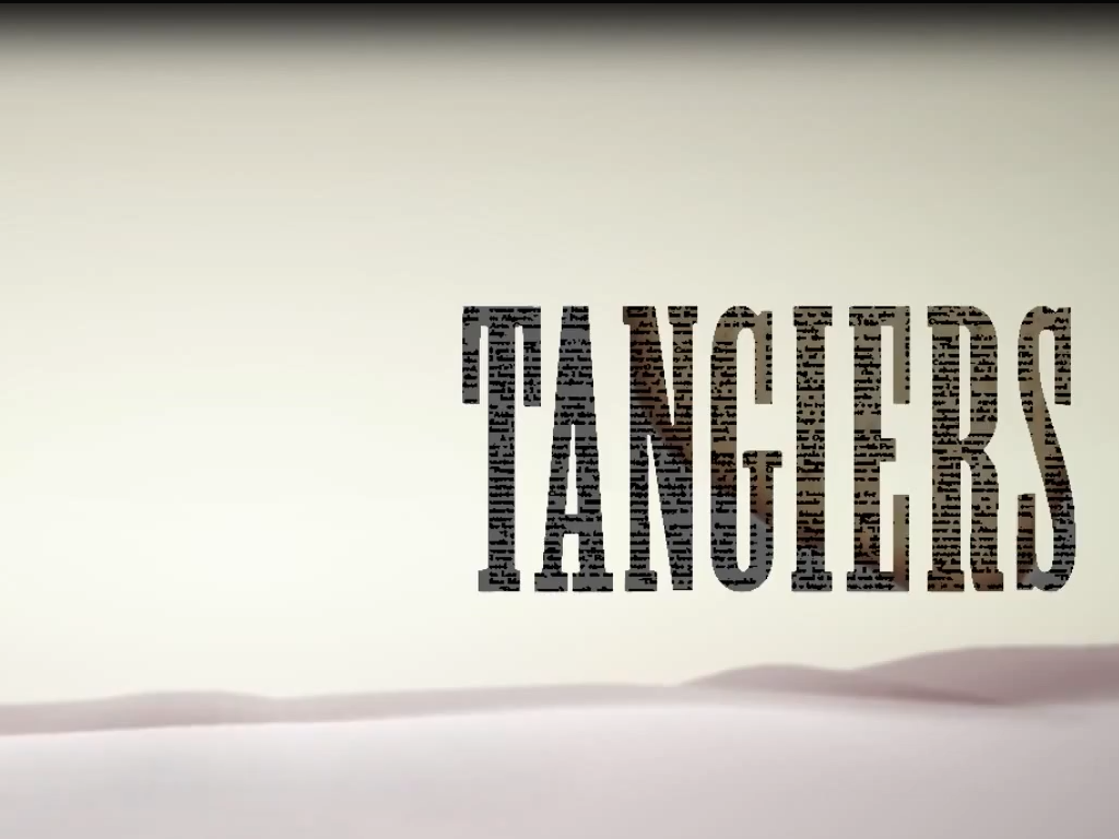Tangiers new exploration stealth trailer with epic avante-gard fun