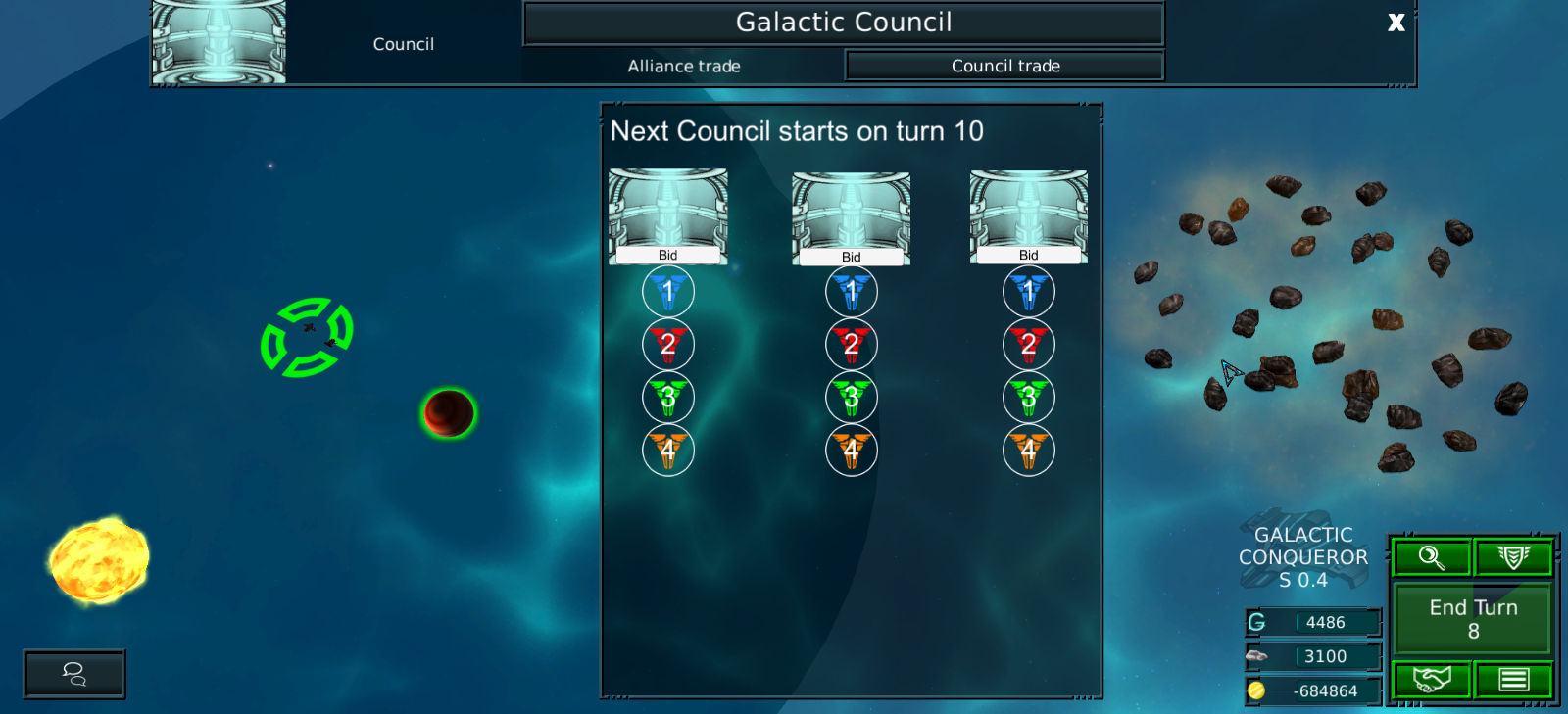 Council WIndow at the moment