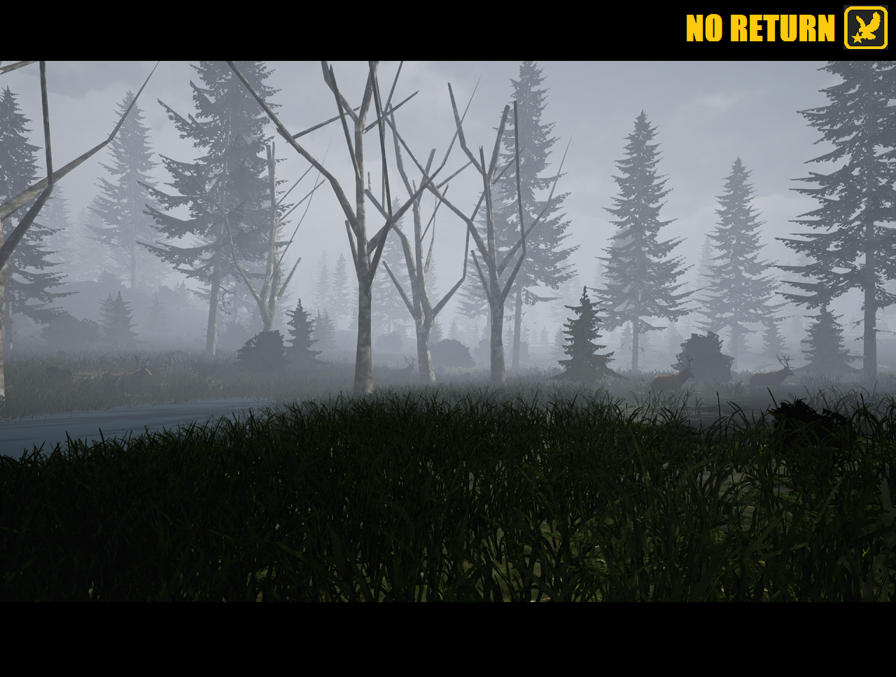 Hunting game play images no return survival hunting game stag hunting ai included in no return open world map gumiabroncs Choice Image