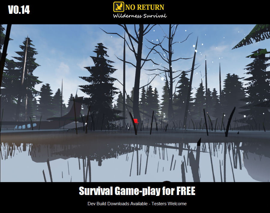No return 3d open world wilderness survival hunting game for pc the major news is the open world which is included hopefully development will continue to progress and a full 20x20km map gumiabroncs Gallery