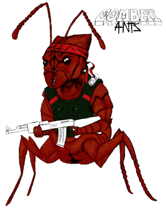 Red Ant image - Combat Ants - Indie DB