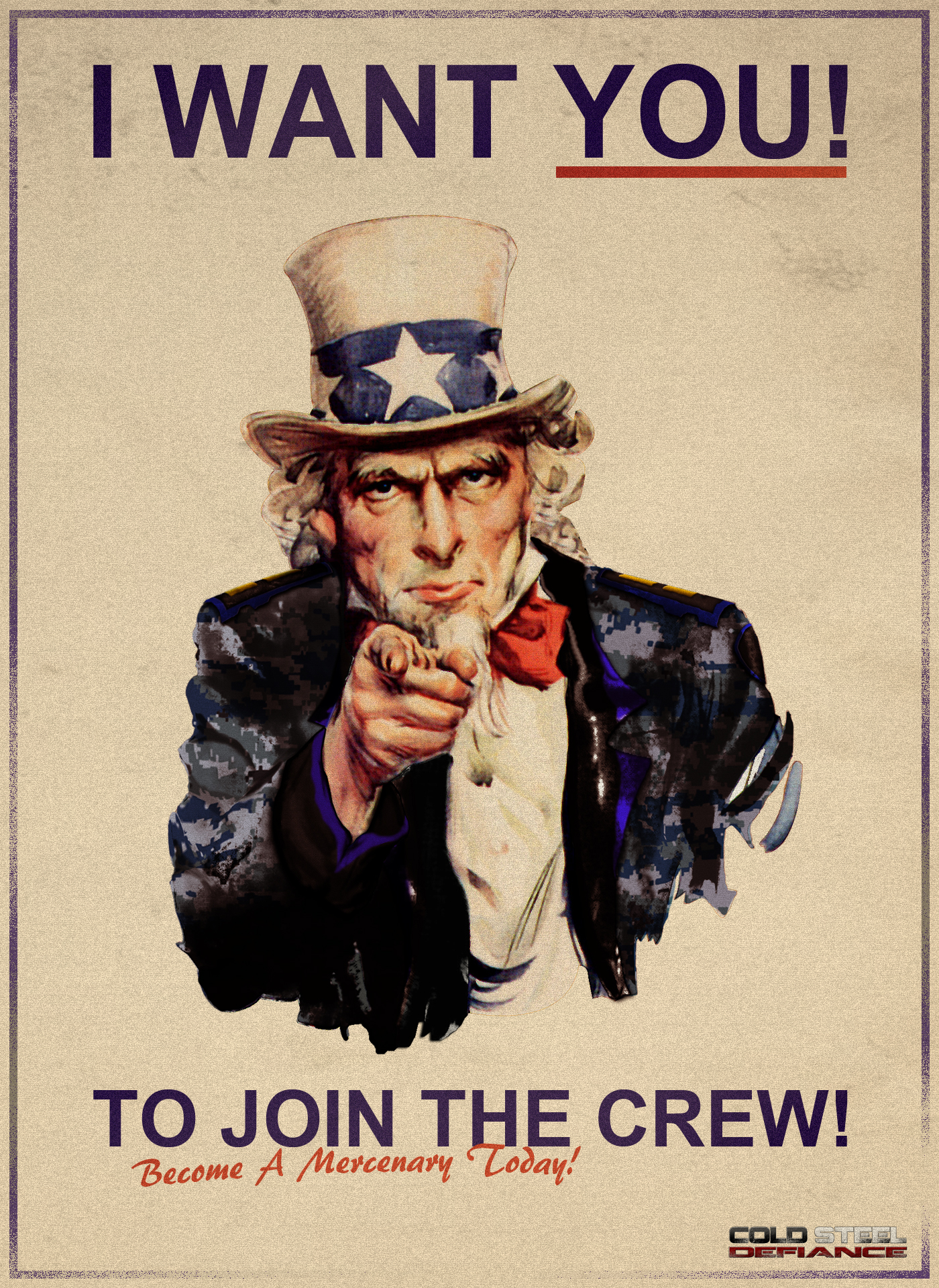 I Want You To Join The Crew! Image