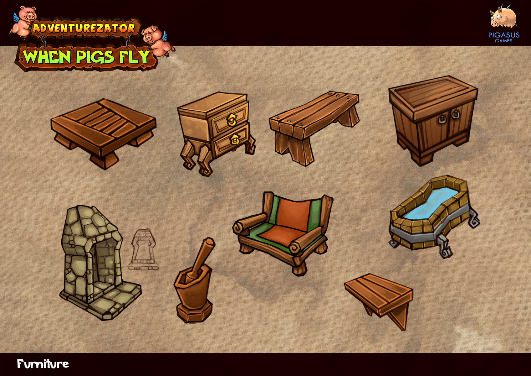 Concept Furniture Image Adventurezator When Pigs Fly Indie Db