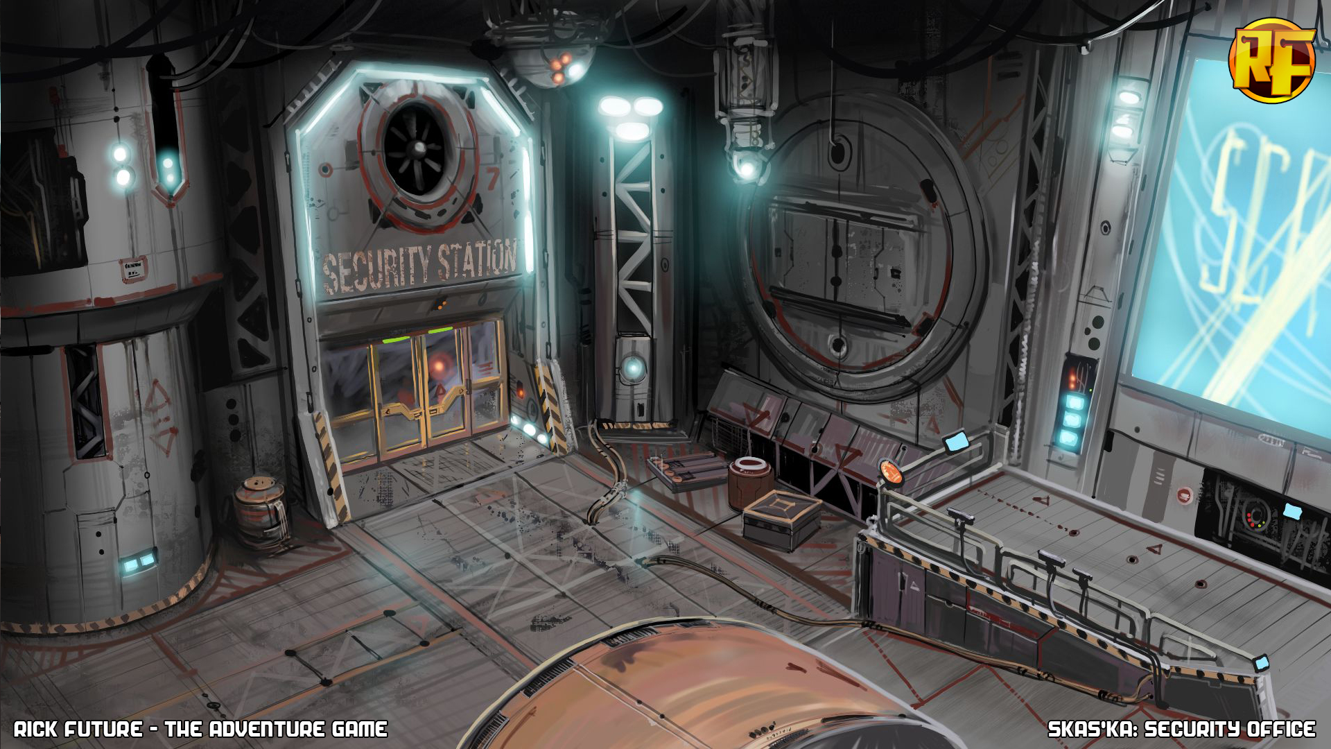 prison sci fi space station - photo #32