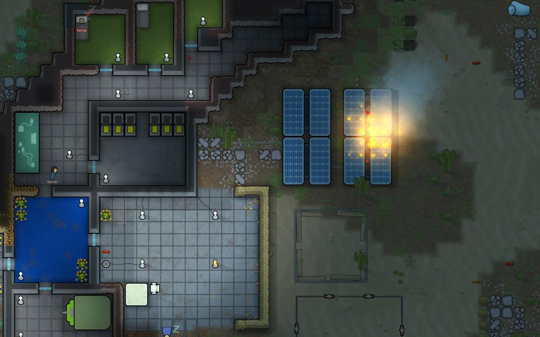 Lightning Result Image Rimworld Game Indie Db