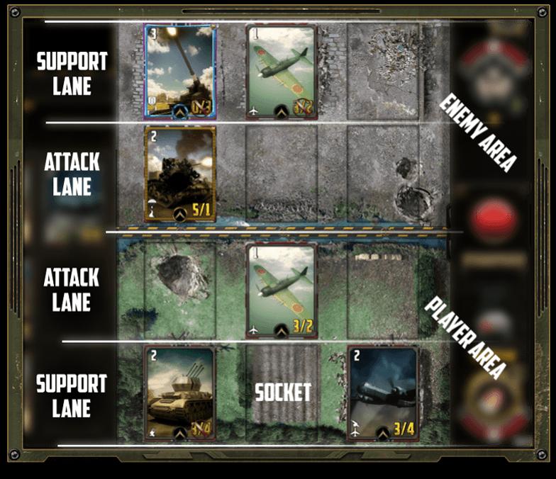 world war flash game
