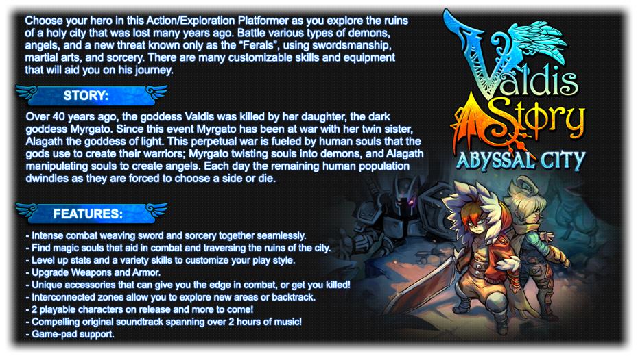 Valdis Story: Abyssal City Windows game