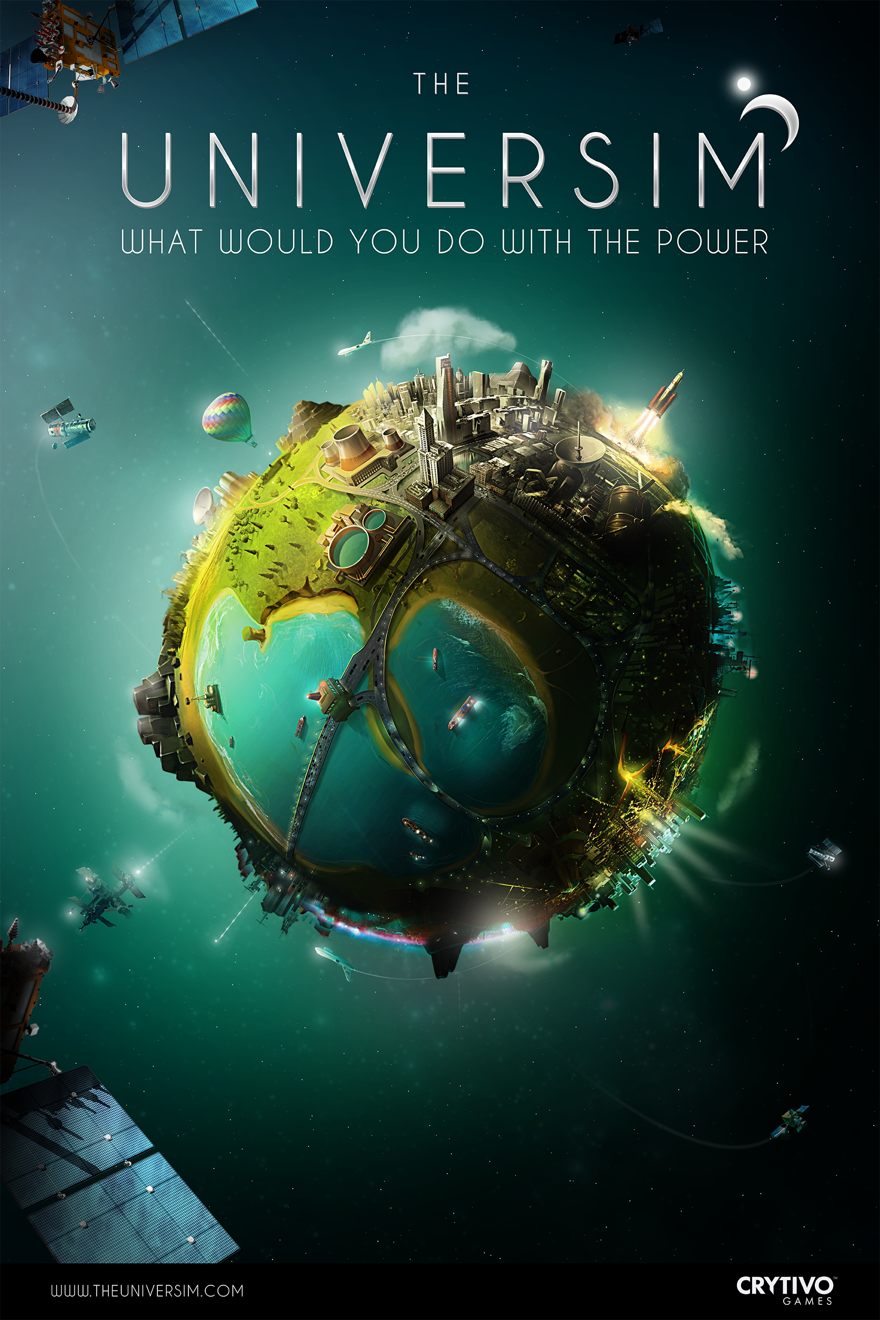 Able Planet: The Universim Official Poster Image
