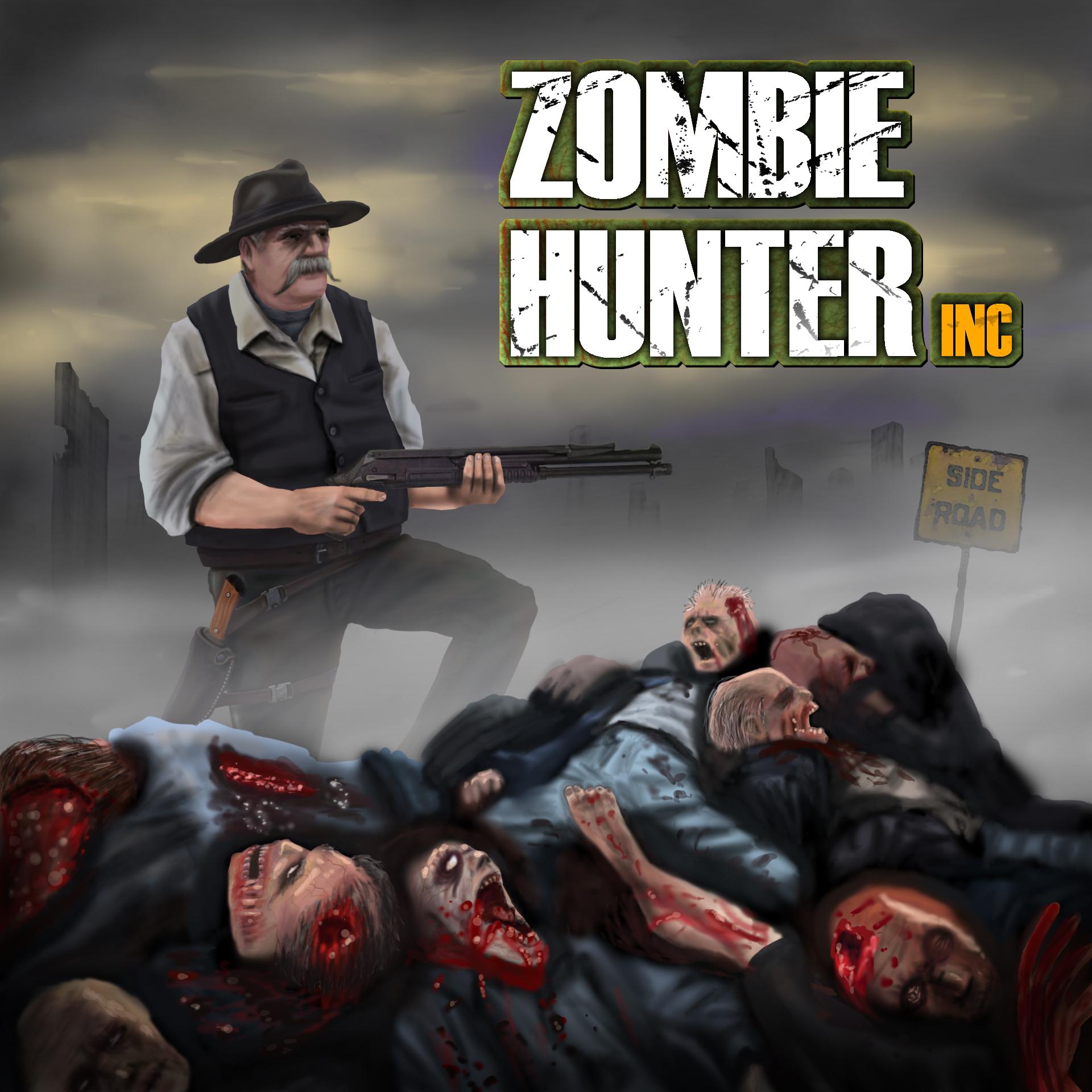 Zombie Hunter Logo Zom...