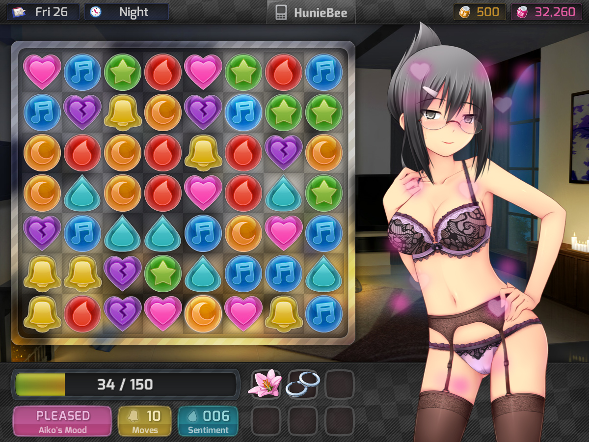 Huniepop all game uncensored