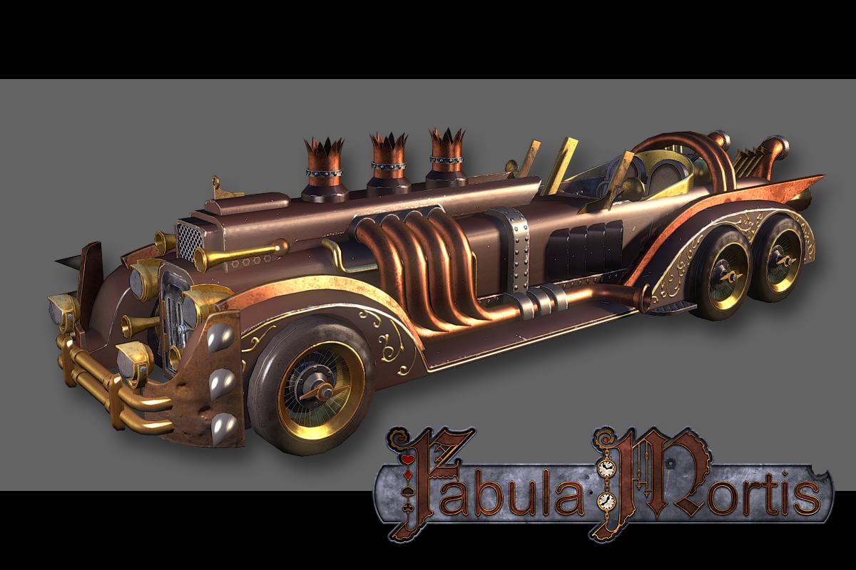 Van Helsings Car Image Fabula Mortis Indie Db