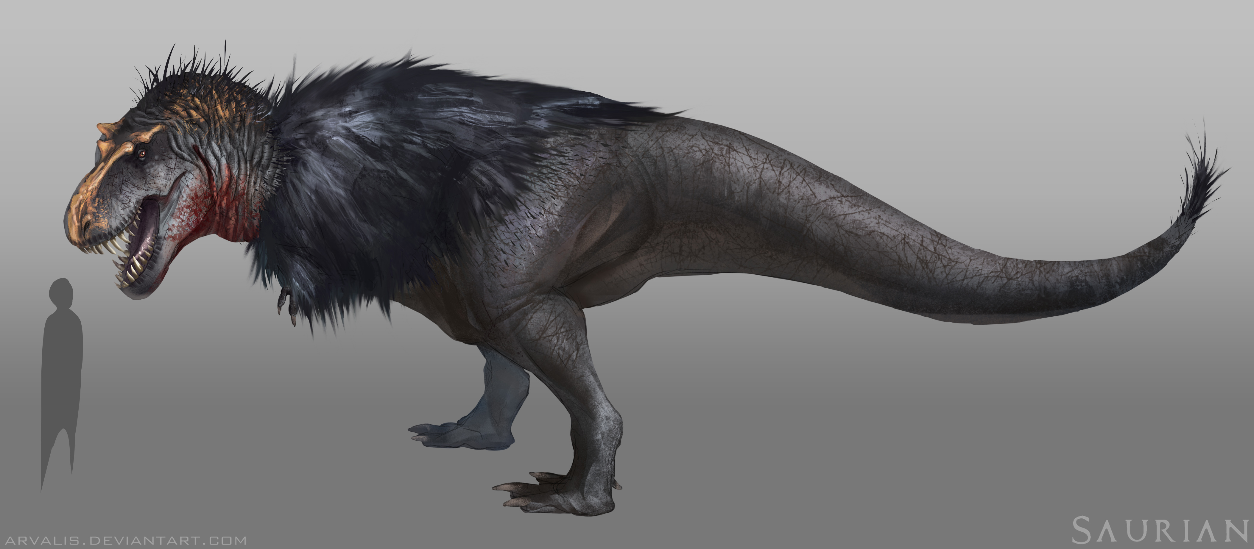 T rex had feather revscene automotive forum for Tyranosaurus