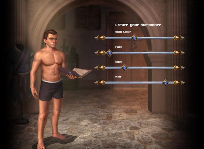 character creation image primal hero indie db
