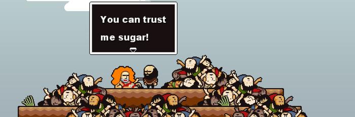 Never trust a snake...  - JAKE