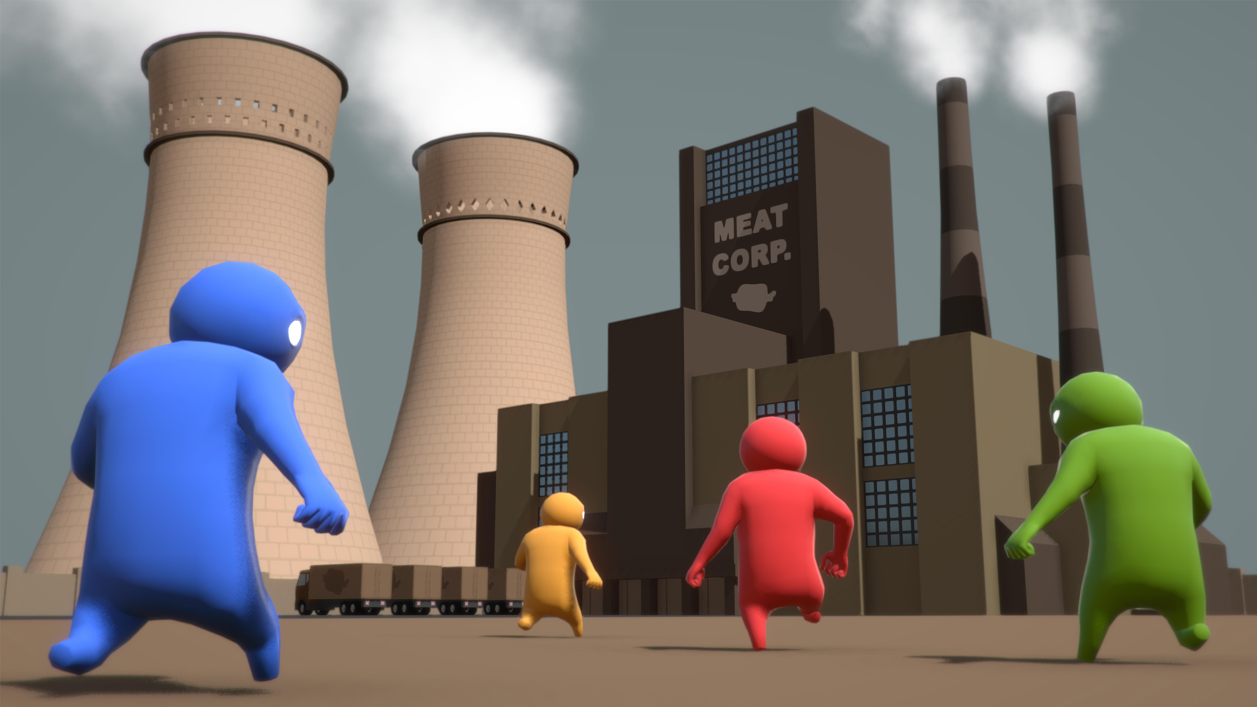 Gang Beasts to release on steam early access next week
