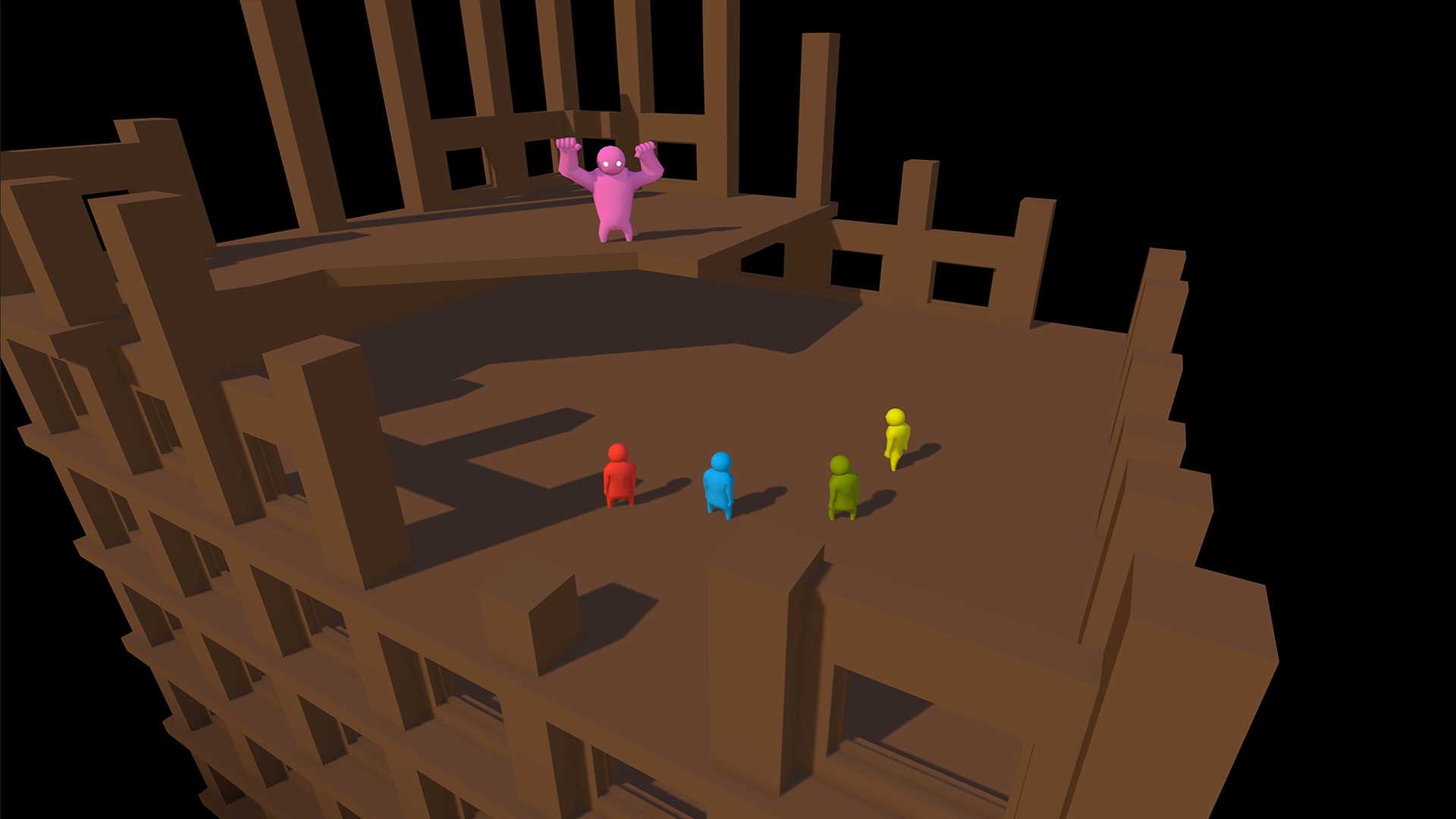 Plaza Level Rooftop Concept Image Gang Beasts Prototype