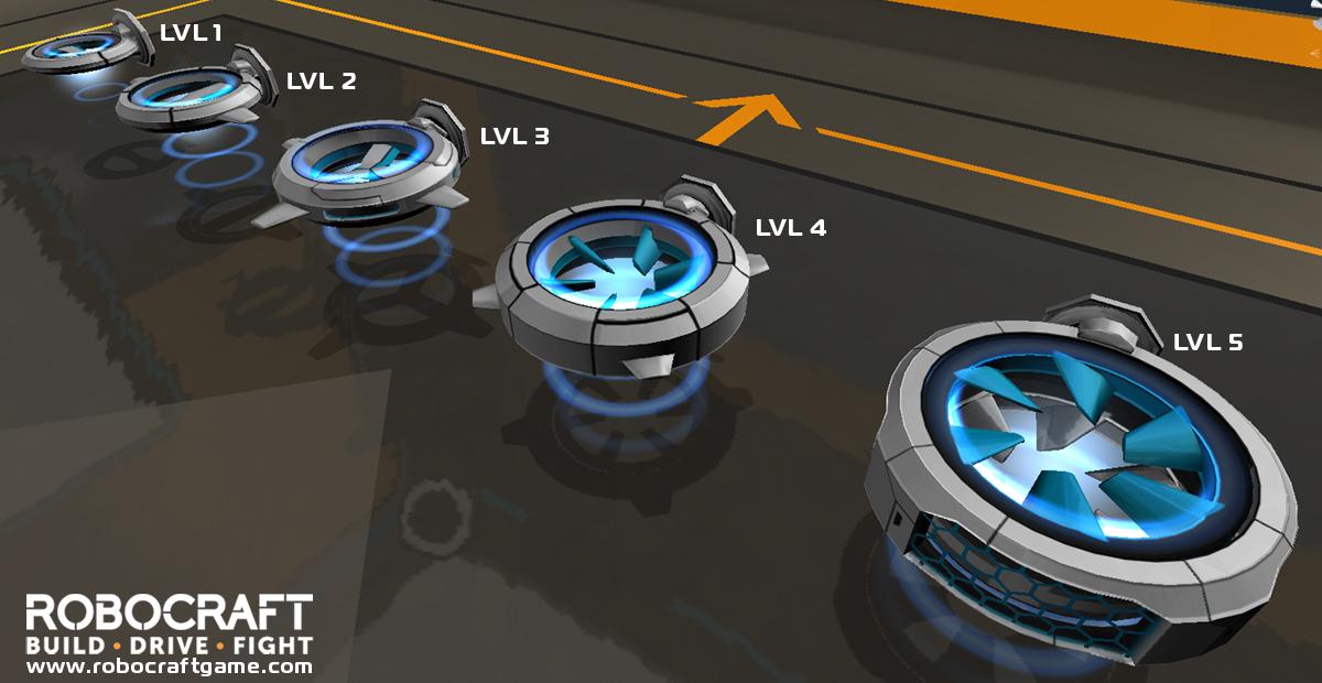 Hoverblades image - Robocraft - Indie DB
