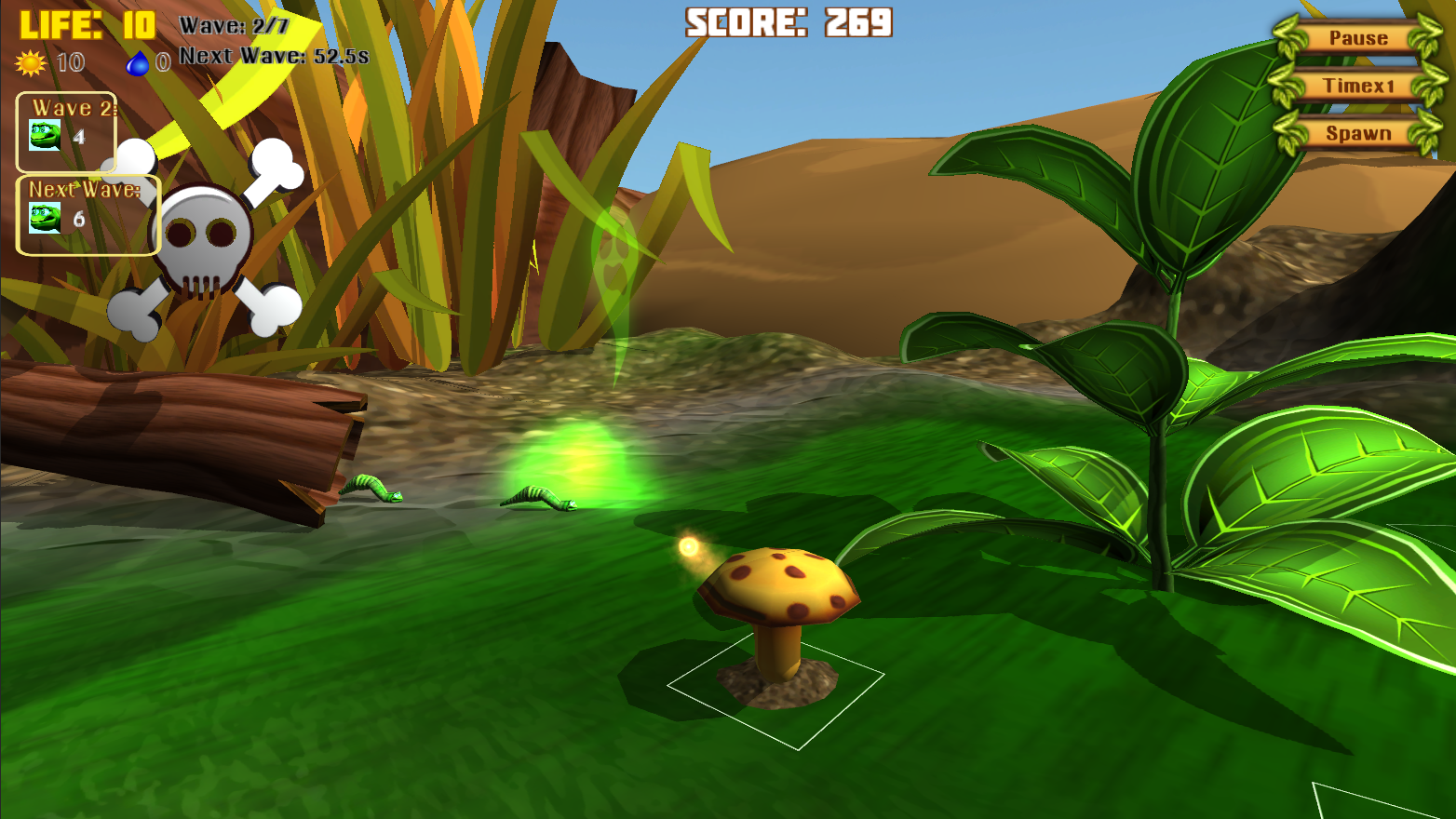 testscreen 1 - Dangerous Insects 1.1 - Espectacular Juego para Linux