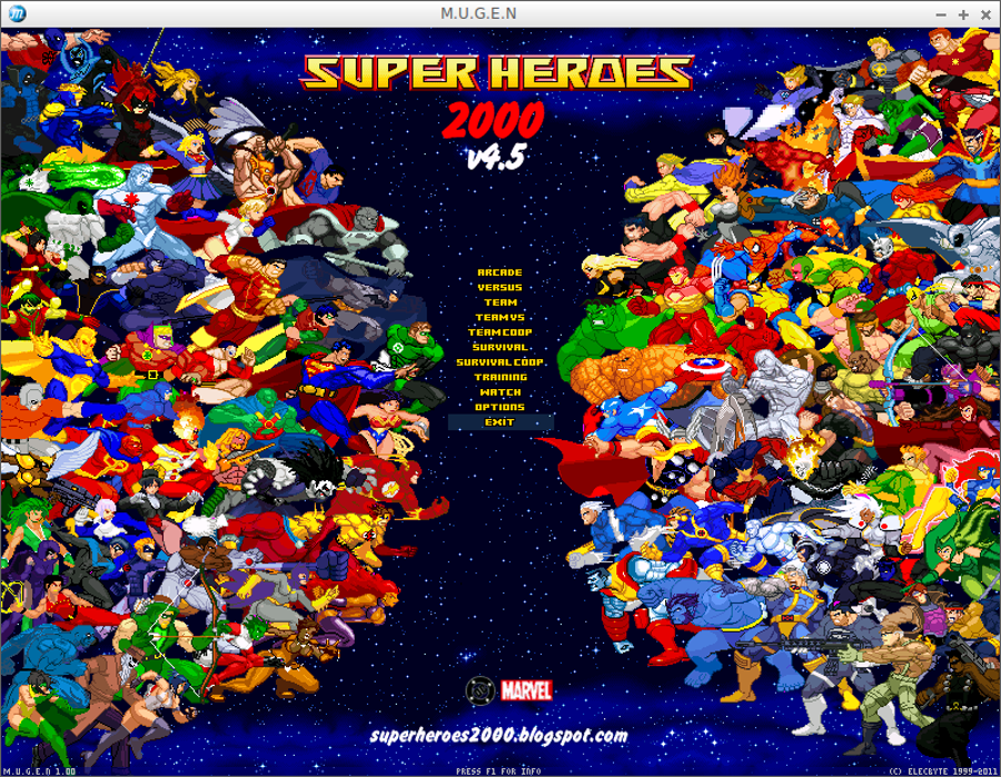 superheroes 2000 mugen Windows, Mac, Linux game - Indie DB