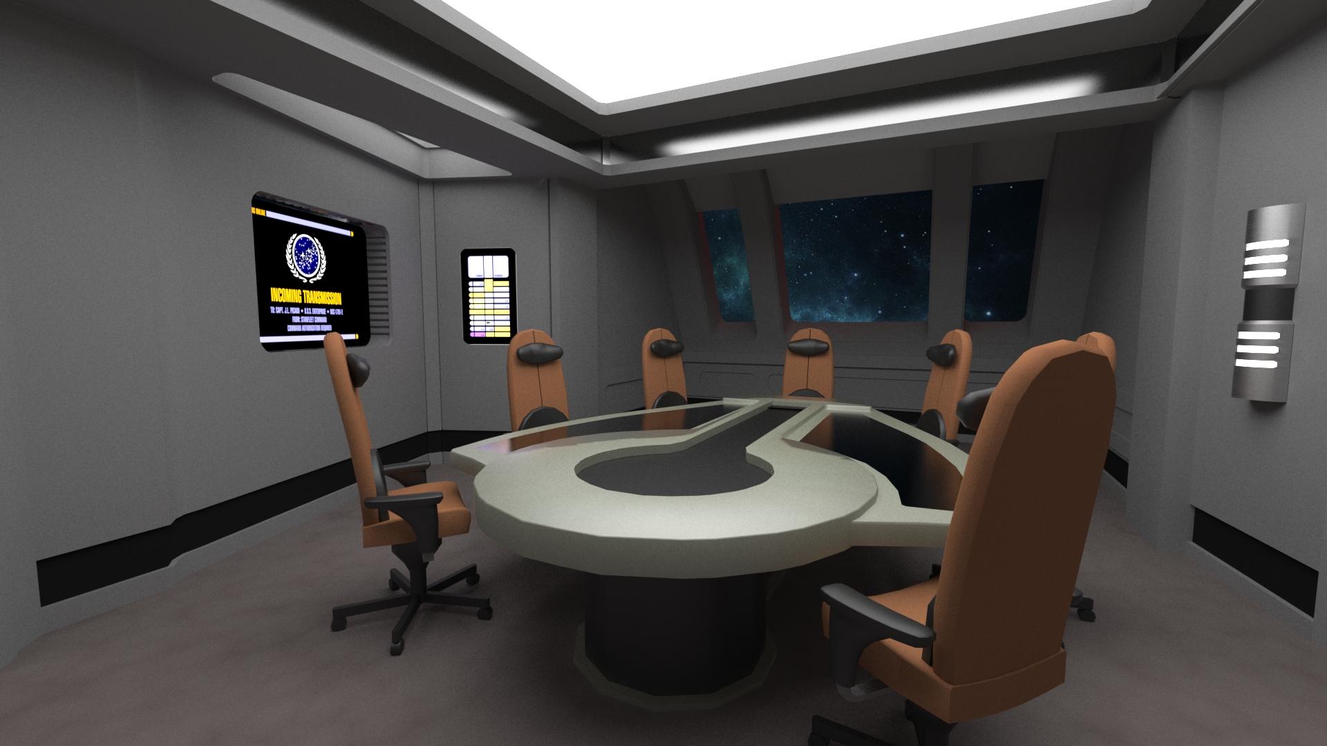 Briefing Room Wip Image Star Trek Voyager Game Project