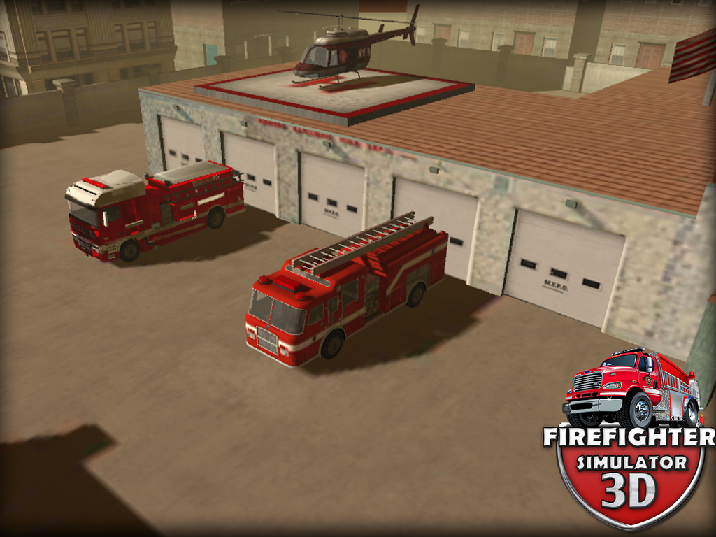 Firefighter Simulator 3D iOS, iPad, Android, AndroidTab