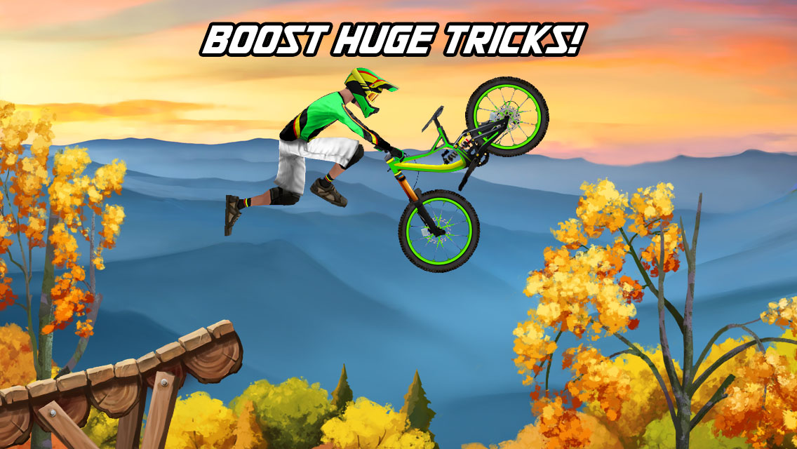 Bike mayhem mountain racing یاری بۆ ئایفۆن